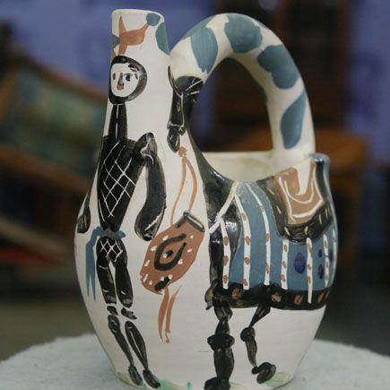1950s Pablo Picasso Ceramic Jug