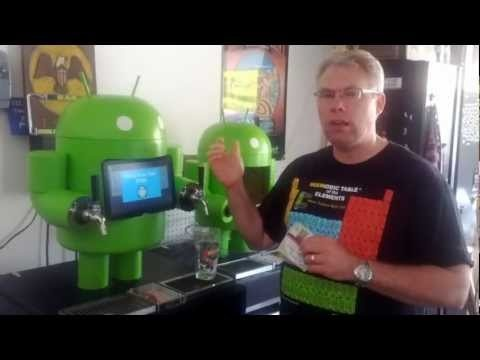 Une pompe à bière sous Android