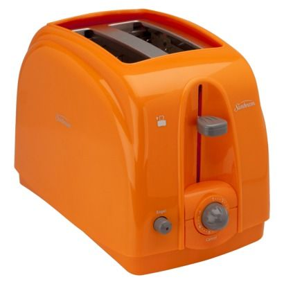 2 Slice Toaster with extra-wide slots - turquoise, red, gray, or orange (pictured) #TargetCollege