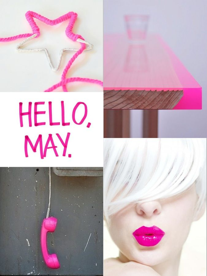 Moodboard l May l Pink l Neon by Pure Style interieur l styling
