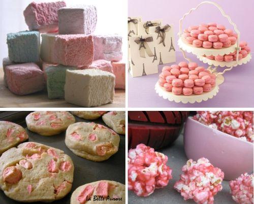 DIY wedding sweets: Pink Desserts, Wedding Favors, Weddings Favors, Pink Party, Weddings Sweet, Edible Favors, Desserts Tables, Diy'S Weddings Decoration, Weddings Idea