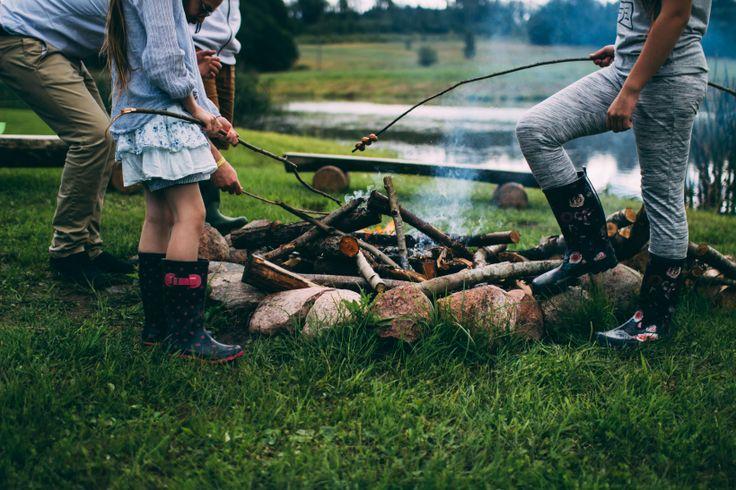 camping 101 #smores #campfires #gettingoutdoors