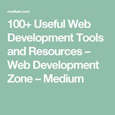 Website design from http://keithhoffart.weebly.com/contact.html 100+ Useful Web Development Tools and Resources – Web Development Zone – Medium