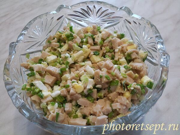 Salat Iz Pecheni Treski Recept Recepty Salatov Idei Dlya Blyud Nacionalnaya Eda