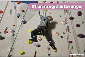 """Sørmarka Arena climbing wall"""" #funinregionstavanger #norway"""