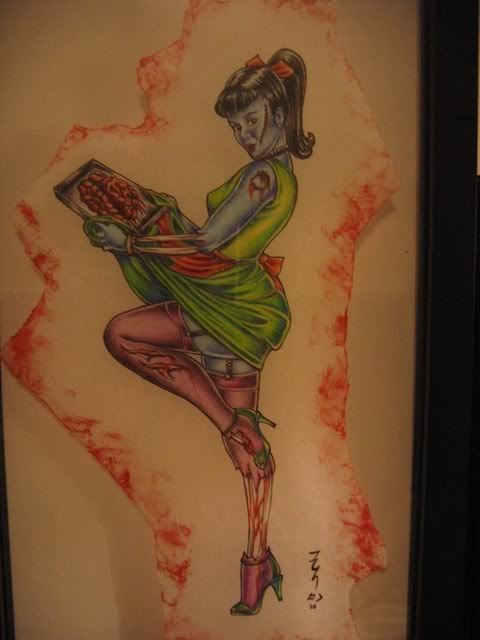 zombie tattoo d likes pinterest more zombie tattoos and tattoo ideas. Black Bedroom Furniture Sets. Home Design Ideas
