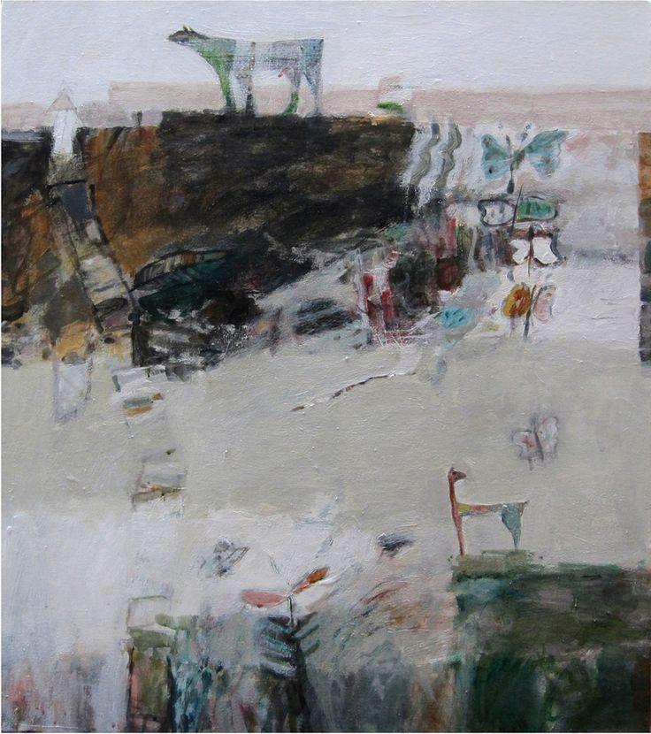 Butterfly, 2011, acrylic on canvas, 70 x 60 cm