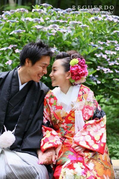 結婚写真ロケーション撮影三溪園08