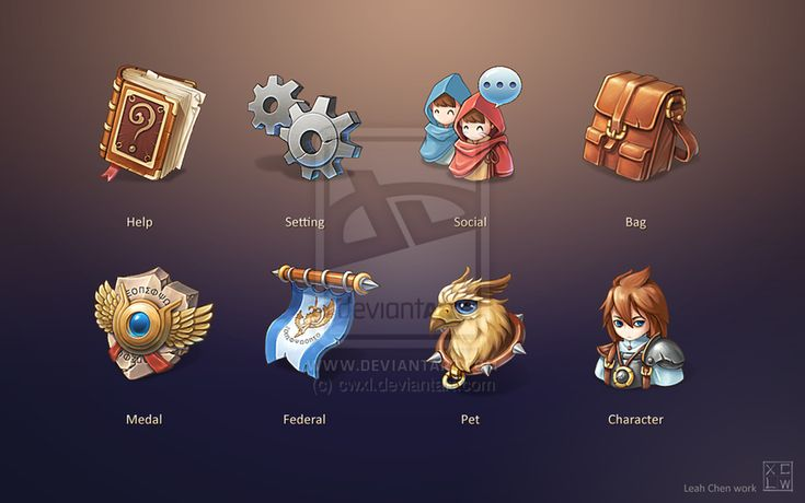 Game Icon Design by cwxl on DeviantArt