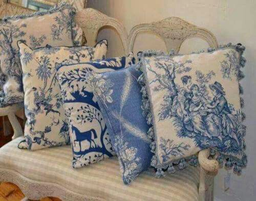 Pinterest Decorating With Toile: 408 Best Images About Terrific Toile & Transferware On