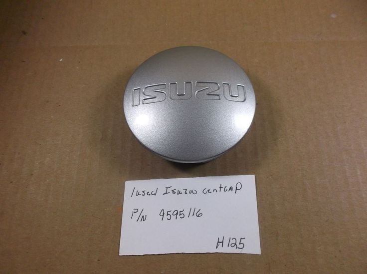 2004-2008 Isuzu Ascender Silver Wheel Center Cap Factory p/n: 9595116 oem H125 #Isuzu