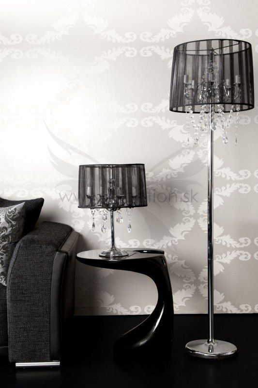 Luxusná staro-talianska lampa Kronecal Black