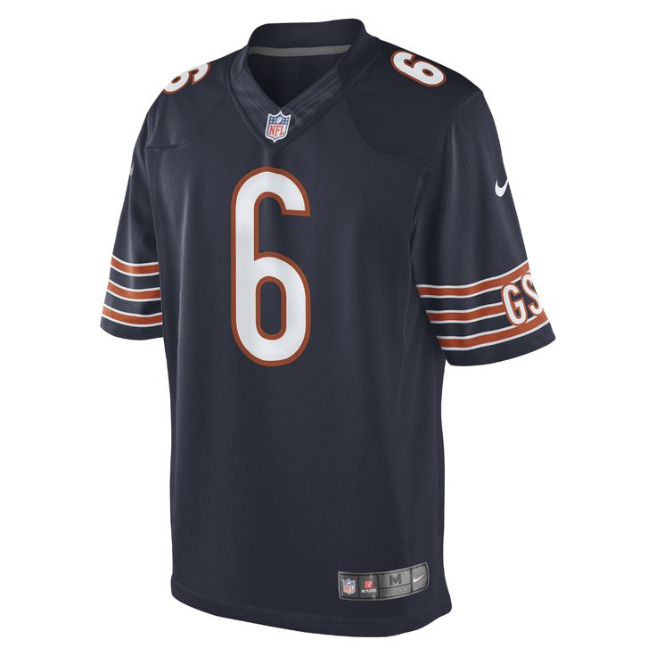 Nike NFL Chicago Bears (Jay Cutler) Kids' Football Home Limited Jersey Size XL (Blue) - Clearance Sale