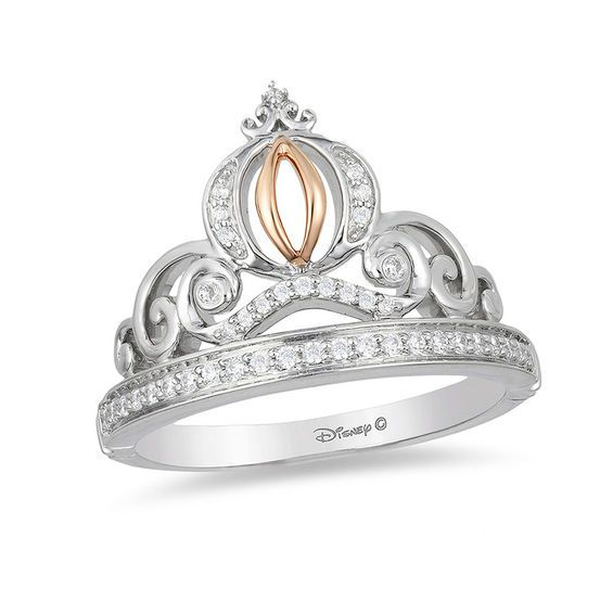 Enchanted Disney Cinderella Oval London Blue Topaz And 1 10 Ct T W Diamond Carriage Ring In Sterling Silver Size 7 Zales Cinderella Engagement Rings Pink Morganite Engagement Ring Gold Diamond Wedding Band