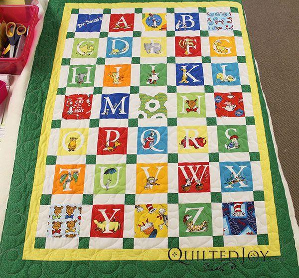 Alphabet Quilting Pattern : Best 25+ Alphabet quilt ideas on Pinterest Baby quilt patterns, Alphabet company and Quilt ...