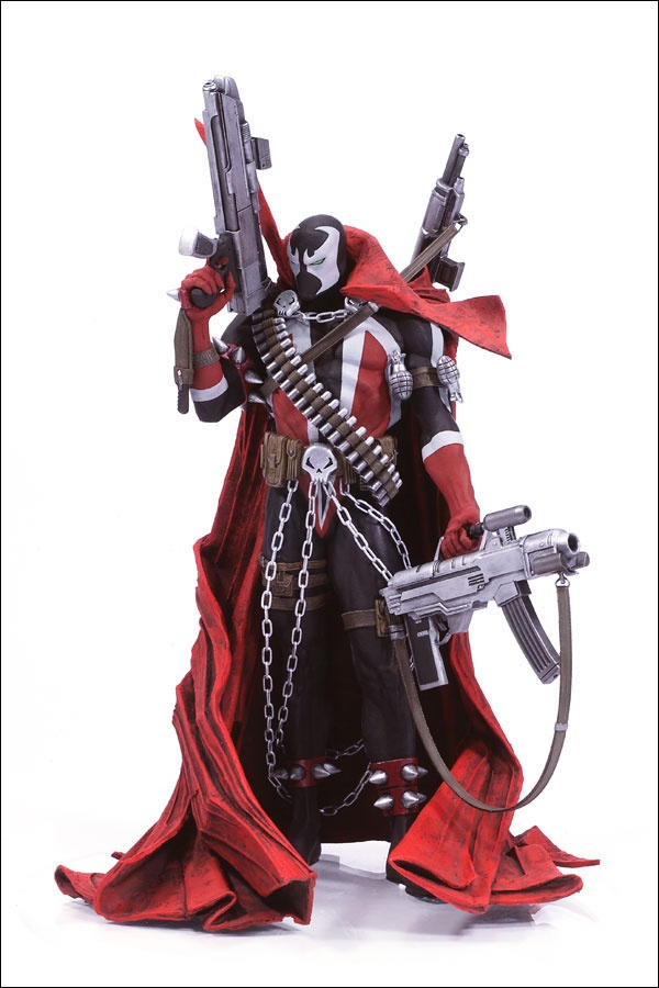 The Art of Spawn: Spawn (based on issue 7 cover art) Action Figure.