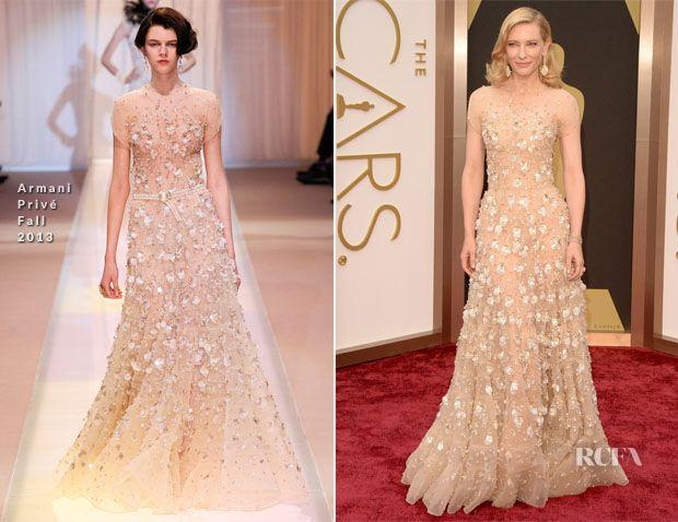 Cate Blanchett In Armani Privé – Oscars 2014