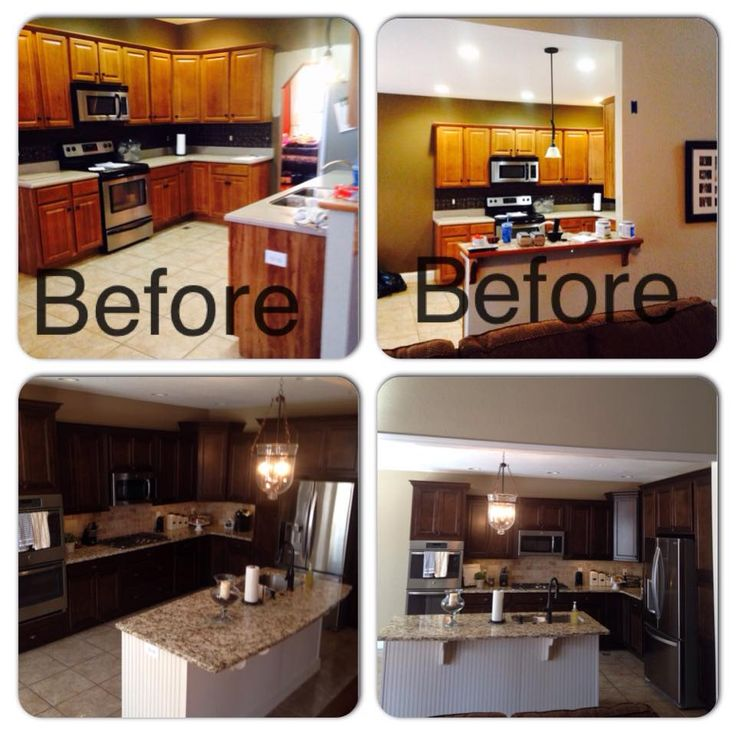 Before And After Photos Of Kitchen -The