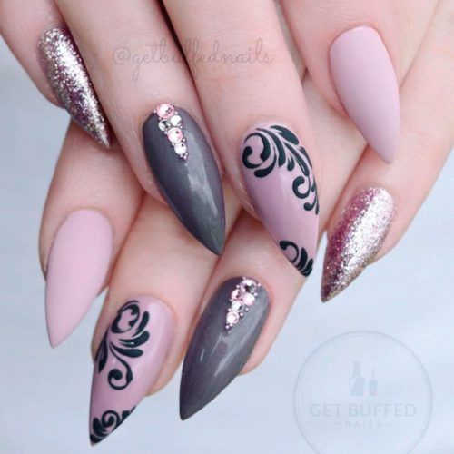 24 Mauve Color Nail Art Ideas To Look Flawless To The Fingertips – Nail Arts