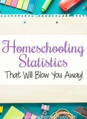 Homeschooling Statistics for homeschoolers.
