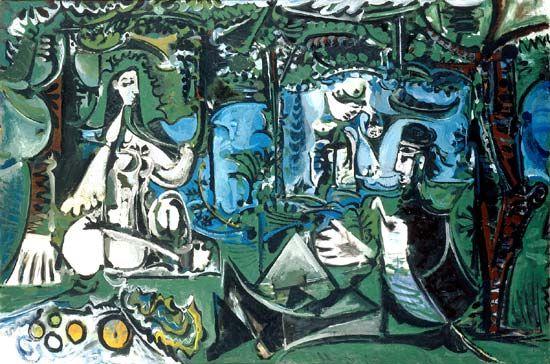 Le_dejeuner_sur_l_herbe_Picasso.jpg (article complet sur ce thème, pour l'HDA)