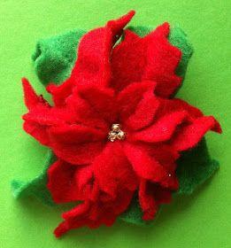 Coisinhas da Flafy: Flor de Natal - Poinsettia