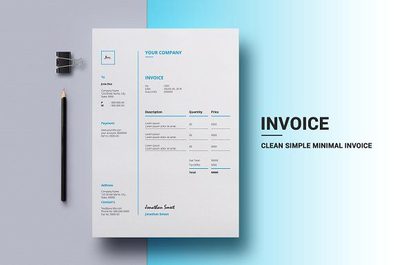 Invoice by Imran Stock's on @creativemarket