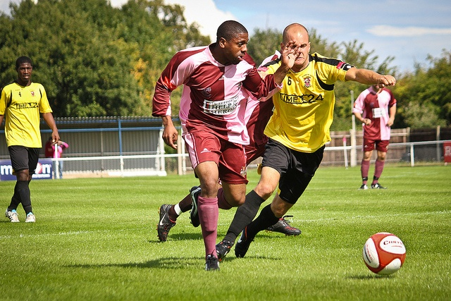 Jamal Carr. Corinthian-Casuals vs Burgess Hill Town by Stuart Tree, via Flickr