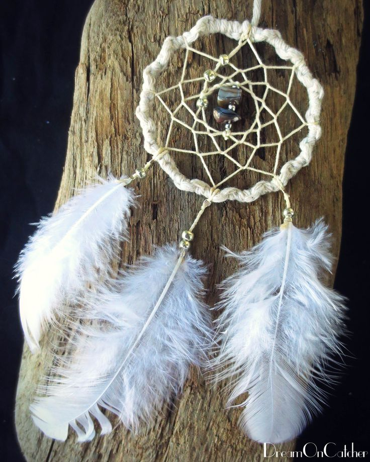 It's coming soon on Etsy!  White DreamCatcher with white feather and Blue stones. dreamoncatcher.nzm@gmail.com