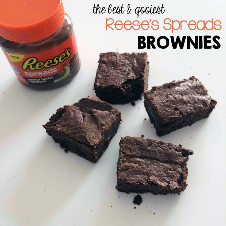 Come Fly With Us: Reese's Spreads Brownies: Recipe (and review) #ReesesSpreads #Contest