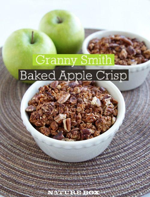 Granny Smith Granola Apple Crisp