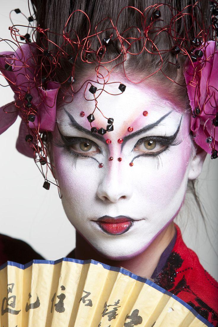 HF6.jpg (With images) Geisha makeup, Fantasy makeup