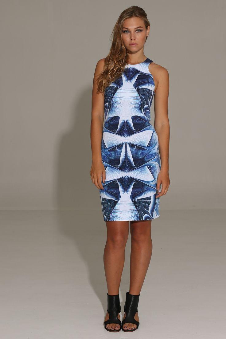 The Shanti Butterfly - Skymatic Dress
