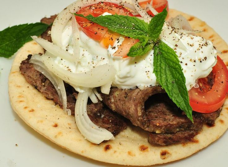 What is Gyro Meat? Learn How Traditional Greek Gyro Is Made. -******The GIANT Gyro-Cone on the spit brings tears to my eyes..........YUM !!! - Brandon and our Hungry Twins