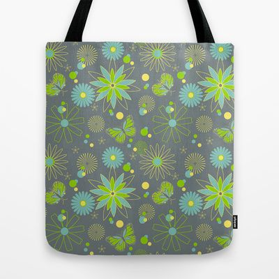 Cocoon in the Garden Tote Bag by designed to a T - $22.00