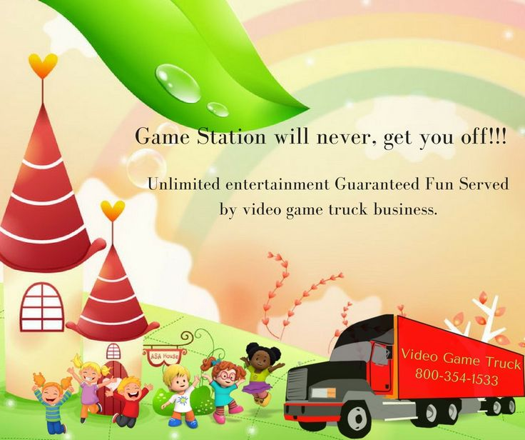 Game truck business encourage the mindset that allows creativity to grow! #VideoGameTruck #KidsVideoGames #KidsParty