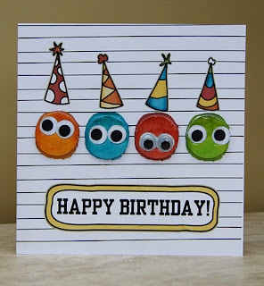 Use thumbprints for Keepers Cardmaking day