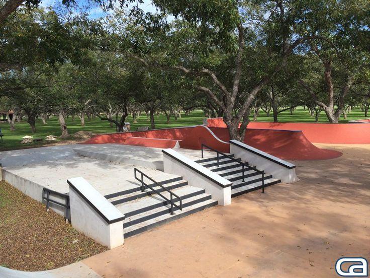 private backyard skatepark - if my backyard was bigger