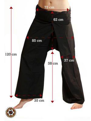 #Black #Extra #Long #Fisherman #Pants - by #bindidesigns $42