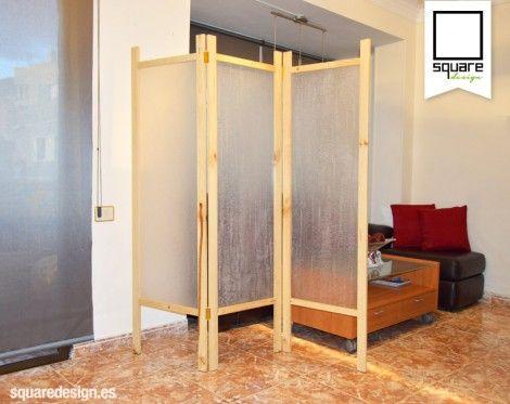 Biombo Mampara · Room DividersBarn DoorsThorPallet ...