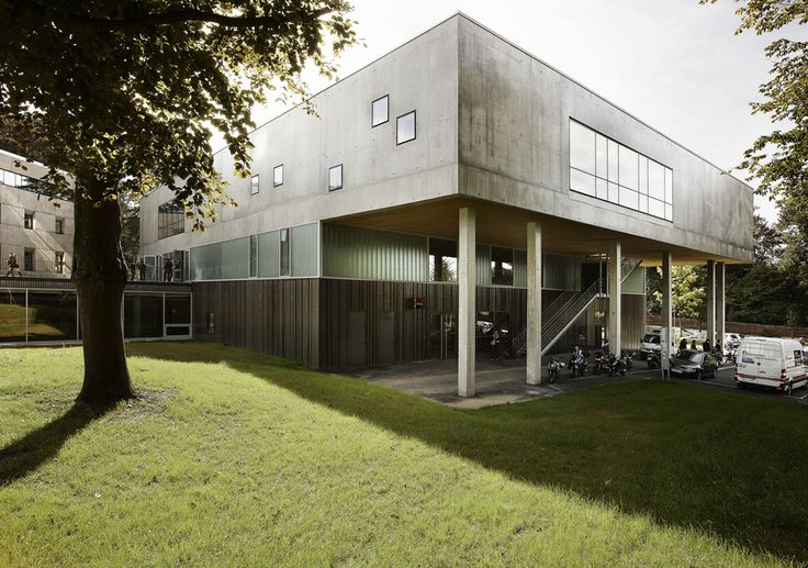 Espacio para el Intercambio / zigzag architecture