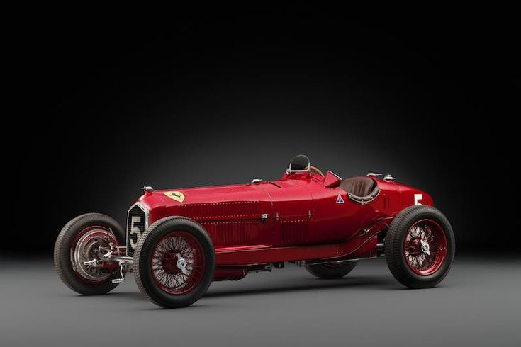 1934 Alfa Romeo Tipo B P3 (photo: Tim Scott)