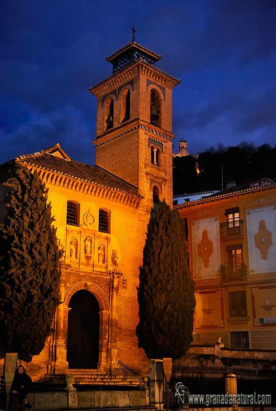 Iglesia de San Gil y Santa Ana (Granada).