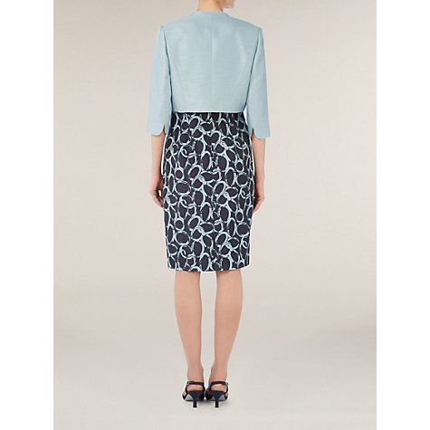Buy Jacques Vert Tailored Bolero, Blue Online at johnlewis.com