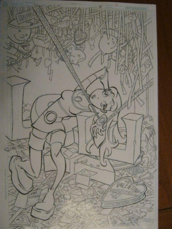 Teen Titans Go issue 4 featuring Starfire Comic Art