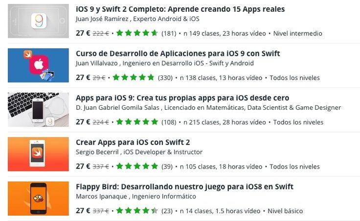 Aprende a crear apps y juegos para iOS por 27€ Ios, Apps