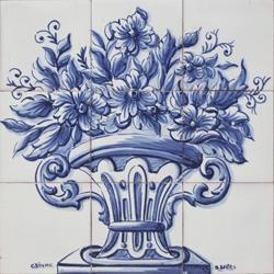 Portuguese decorative tiles Panel - Estoril