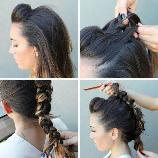 Mohawk braid how to