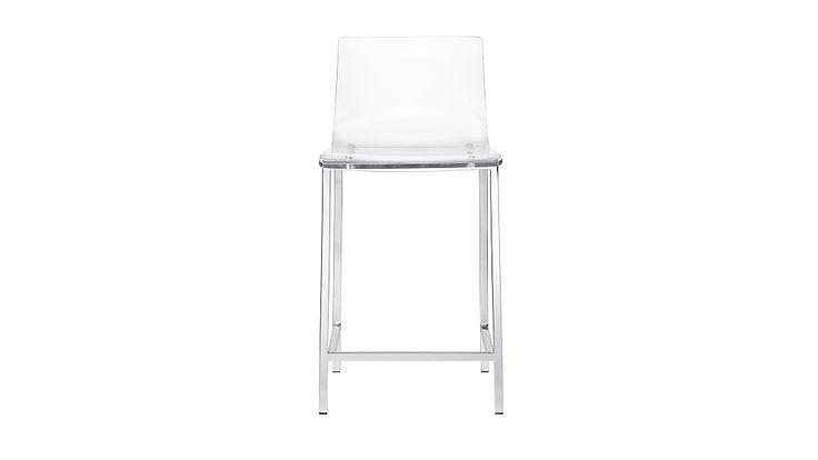 """vapor 24"""" acrylic counter stool   CB2"""