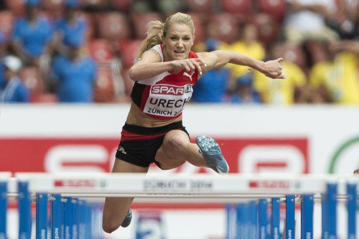 Lisa Urech über 100 m Hürden